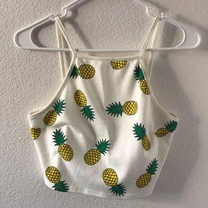 Pineapple 🍍 crop top